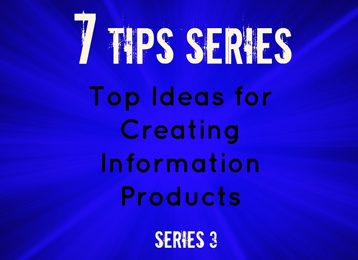 7 tip series for creating products