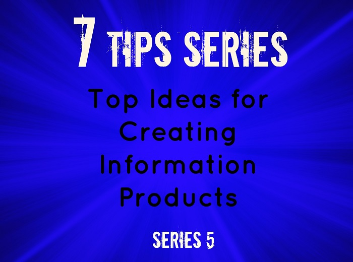 ideas for creating information products