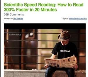speed-reading method