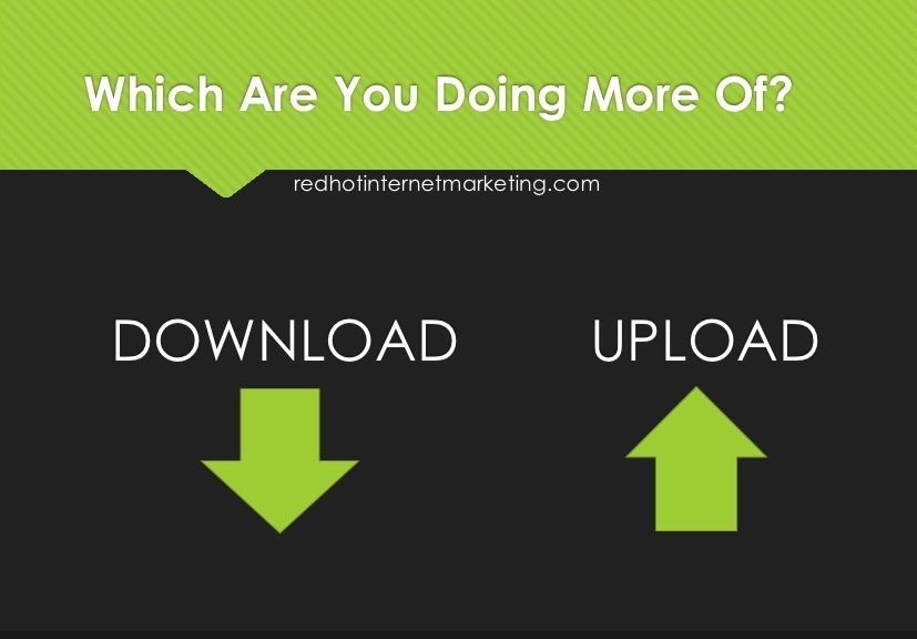 Are you downloading too much?